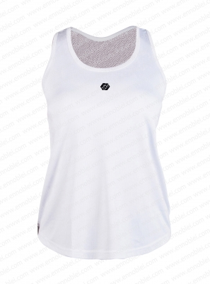 Ennoble-374 Ladies Tank Top White